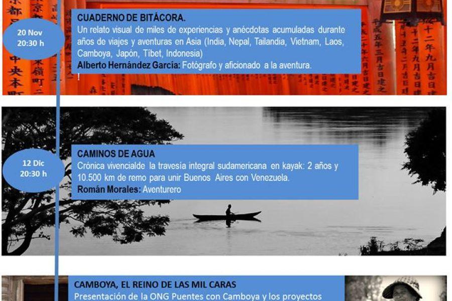 Cartel Cuentaventuras noviembre y diciembre 2013