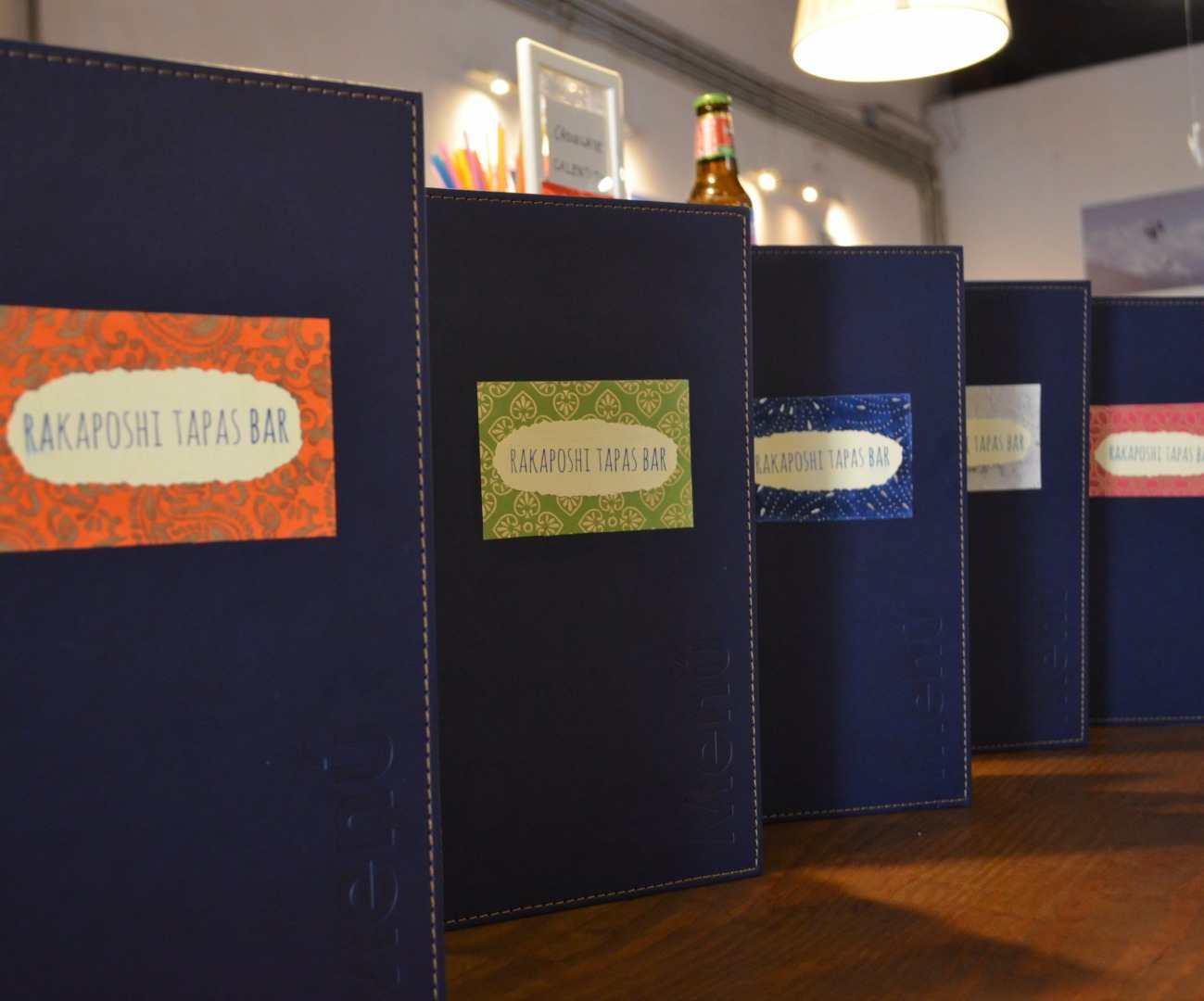 Carta nueva en Rakaposhi Tapas Bar
