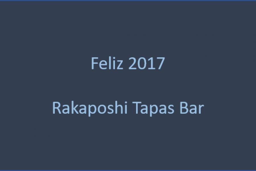 Feliz 2017 de Rakaposhi Tapas Bar