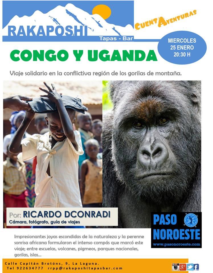 25 enero 2017- Cuentaventuras. Congo y Uganda