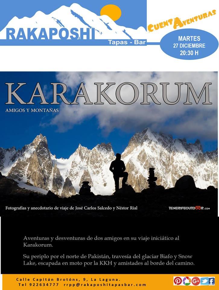 Karakorum, montañas y amigos