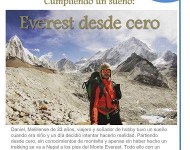 26 octubre 2016. Cuentaventuras. Everest desde cero