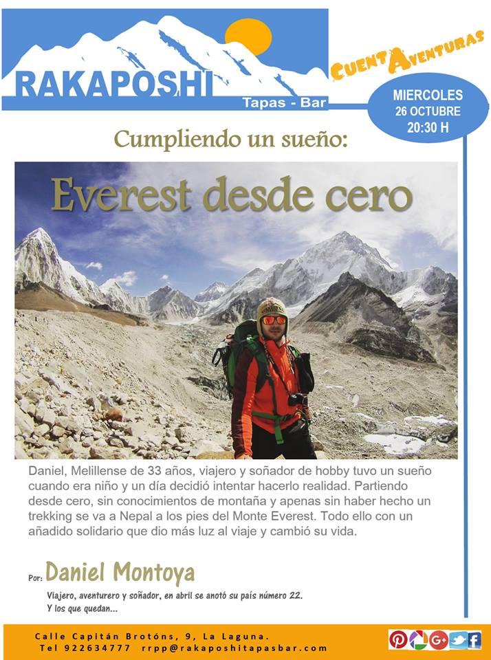 Cuentaventuras. Everest desde cero