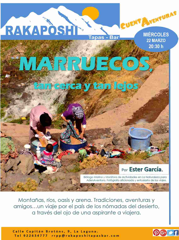 22 marzo 2017. Marruecos, tan cerca y tan lejos