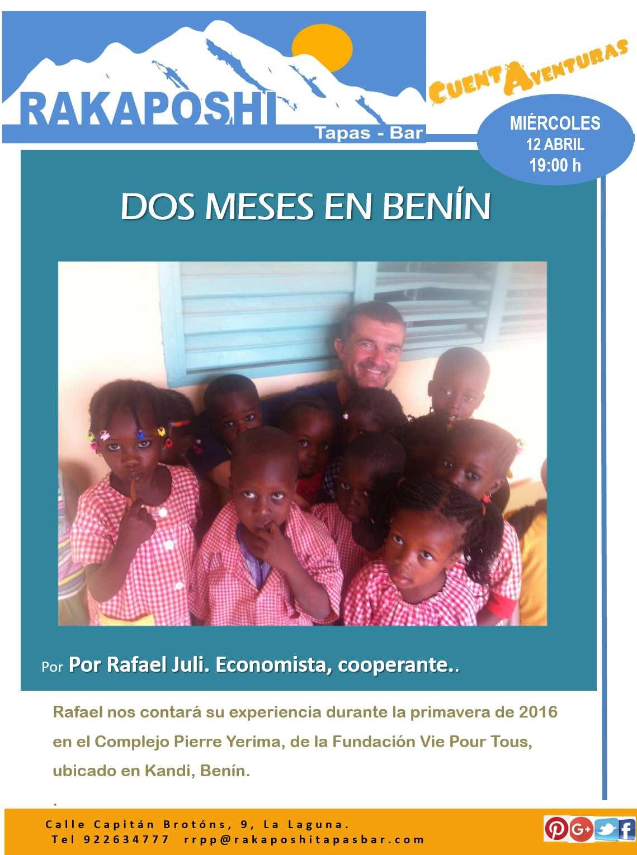 12 abril 2017. 2 meses en Benín