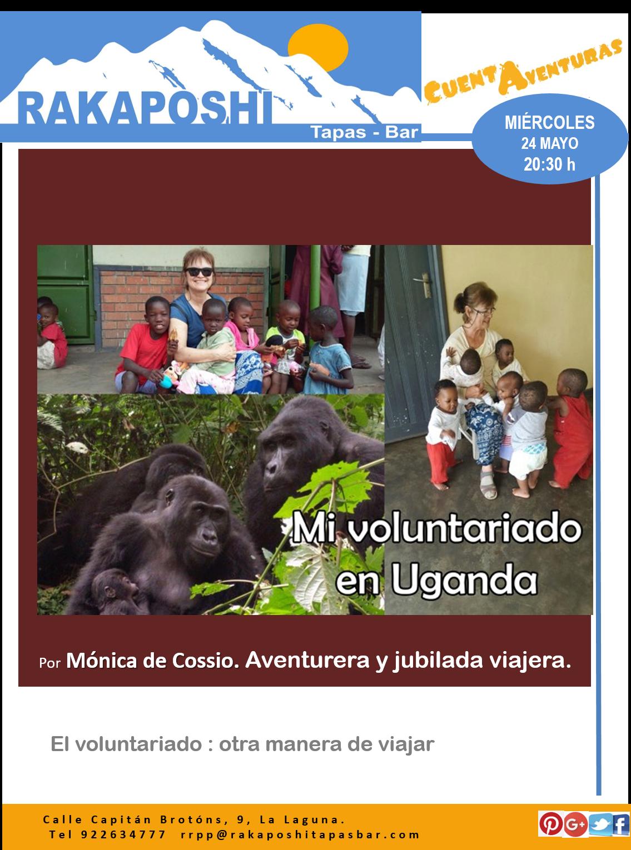 24 mayo 2017. Uganda. Monica de Cossio
