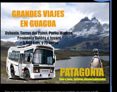 7 junio 2017. Patagonia en guagua con Tete y Jose