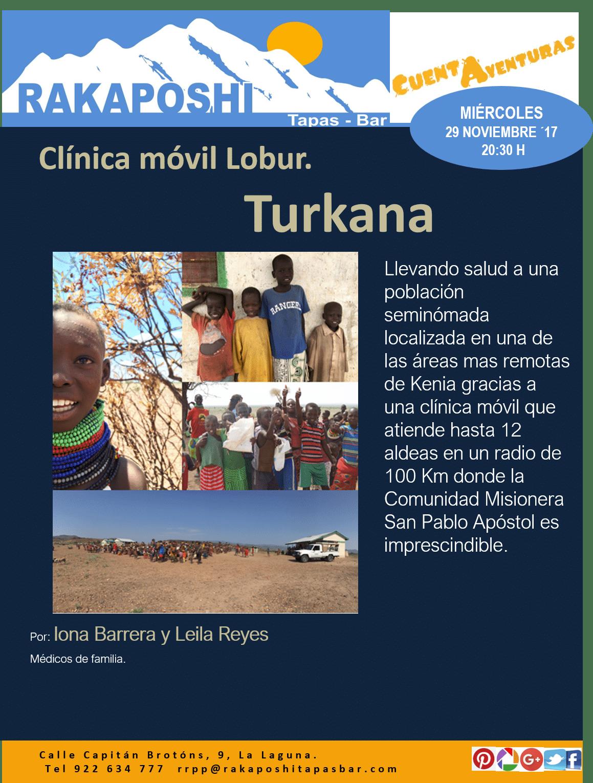 Charla 29 noviembre a las 20:30 h -Turkana, Kenia