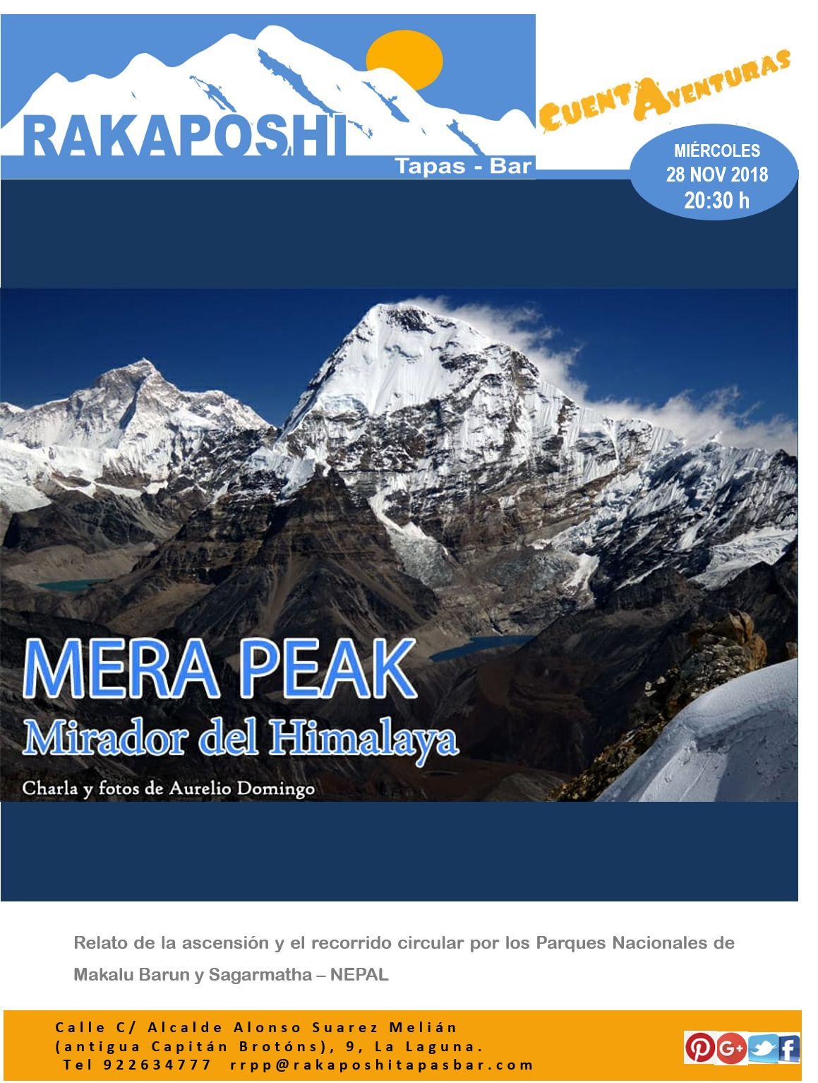 28 Noviembre 2018. MERA PEAK: Mirador del Himalaya