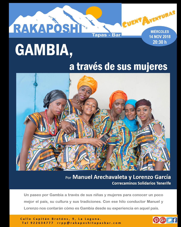 14 noviembre 2018. Gambia, a través de sus mujeres
