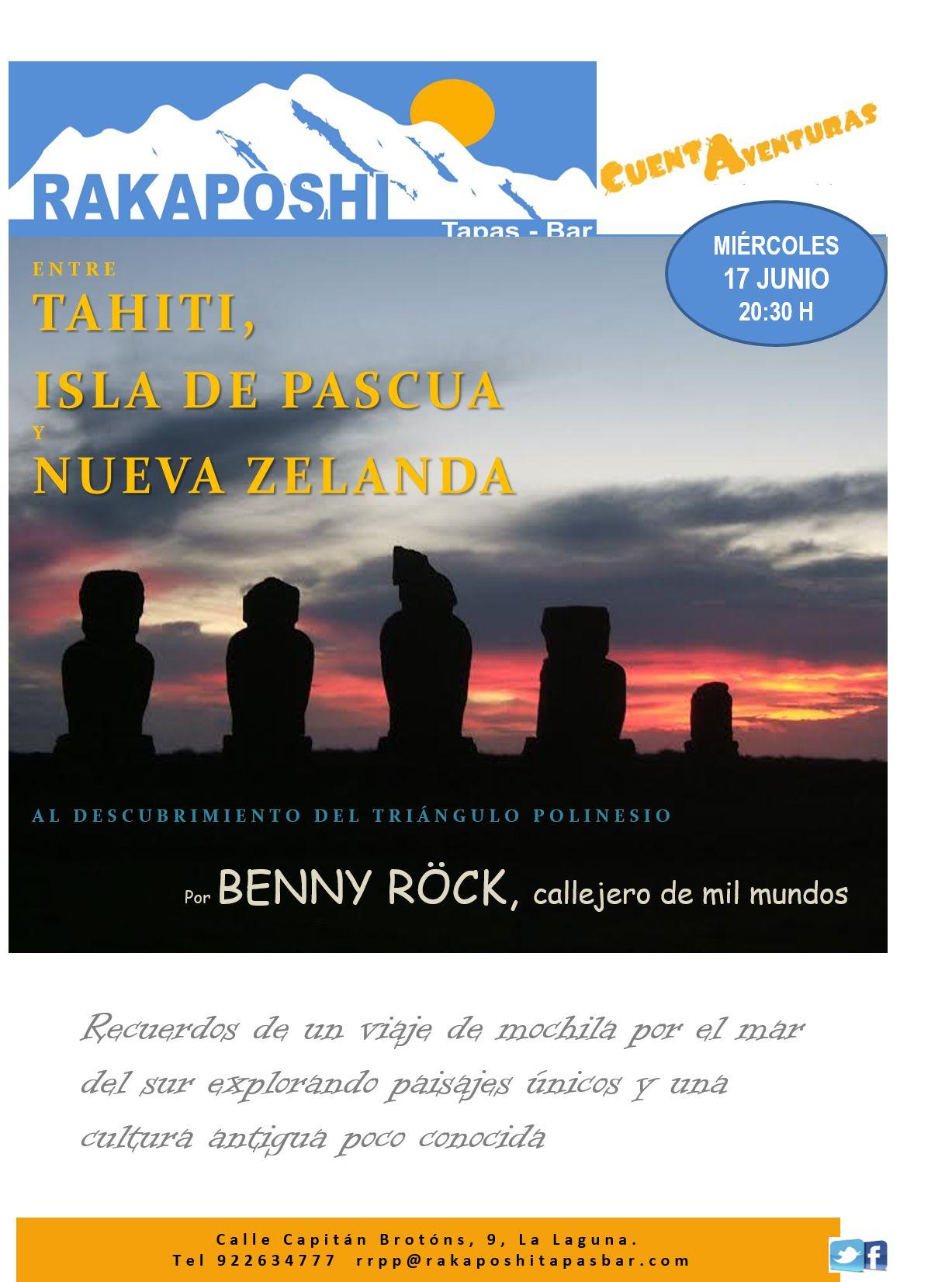 17 junio 2015. Tahiti, Benny Rock