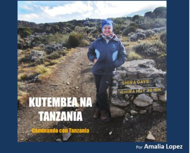 4 diciembre 2018. Caminando por Tanzania