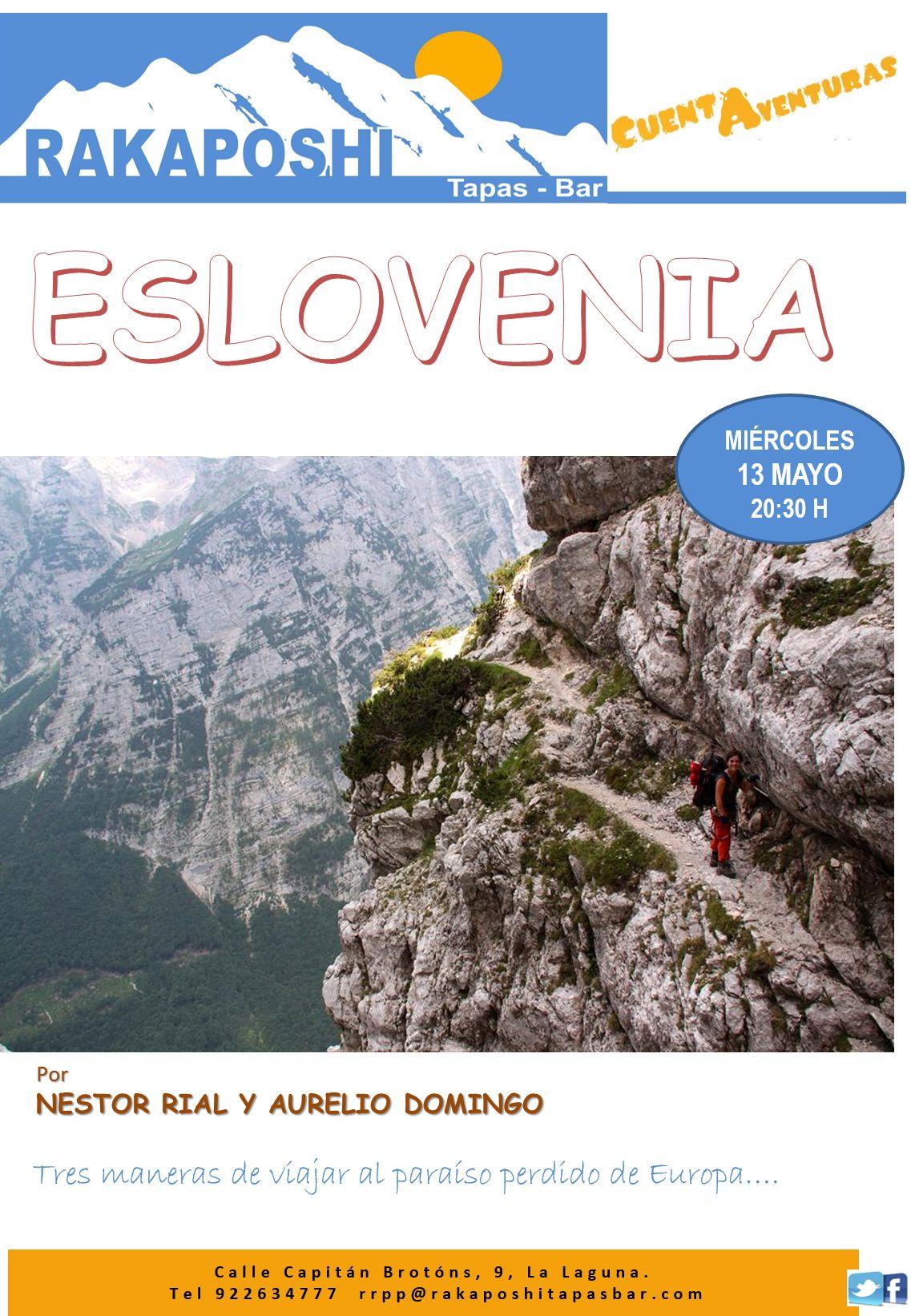 13 mayo 2015. Eslovenia. Nestor Rial y Aurelio Domingo