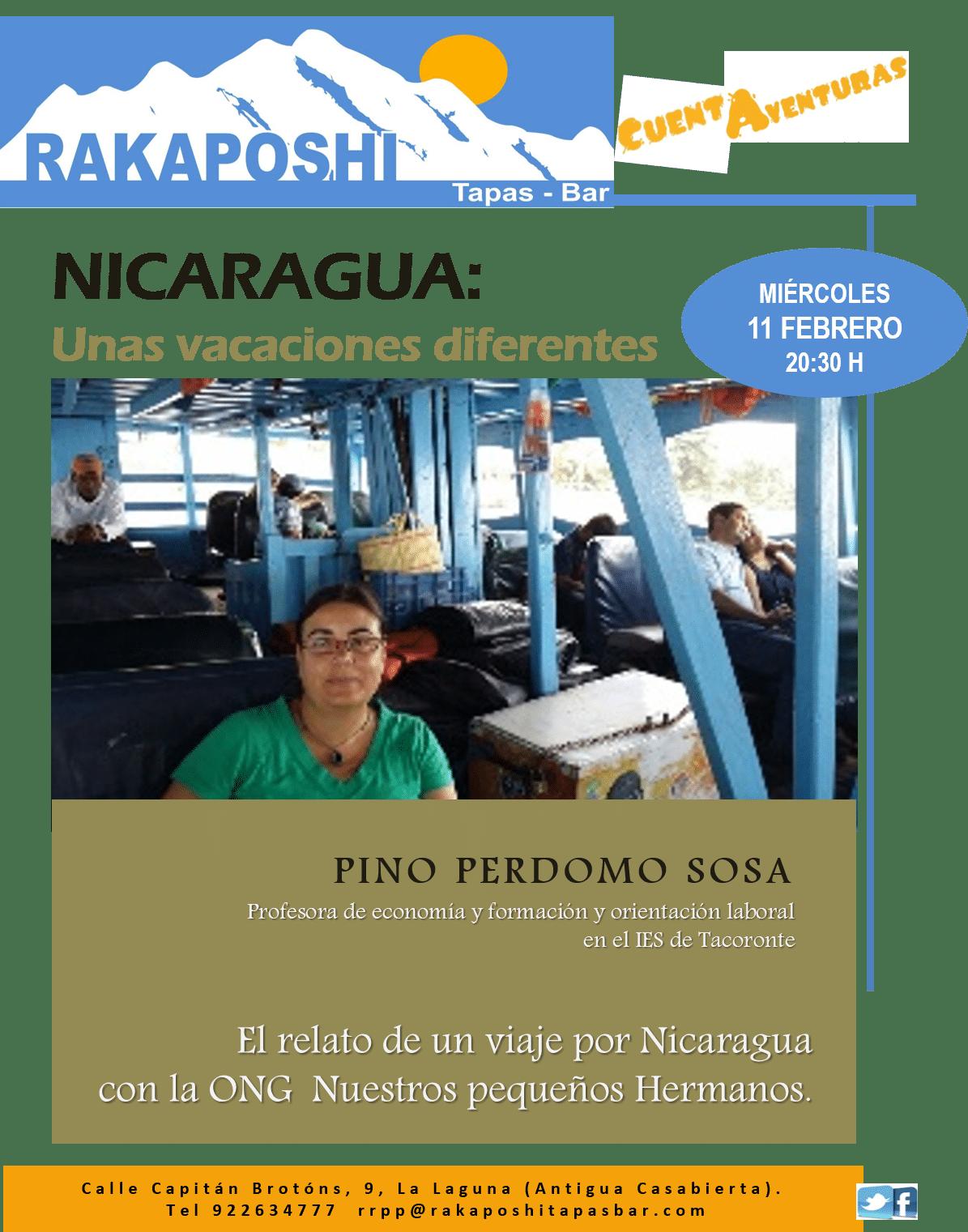 11 febrero 2015. Nicaragua. Pino Perdomo Sosa