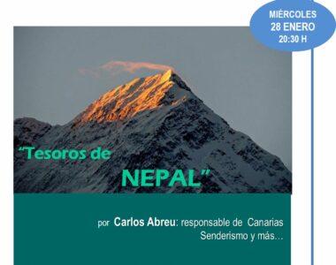 28 enero 2015. Tesoros de Nepal. Carlos Abreu