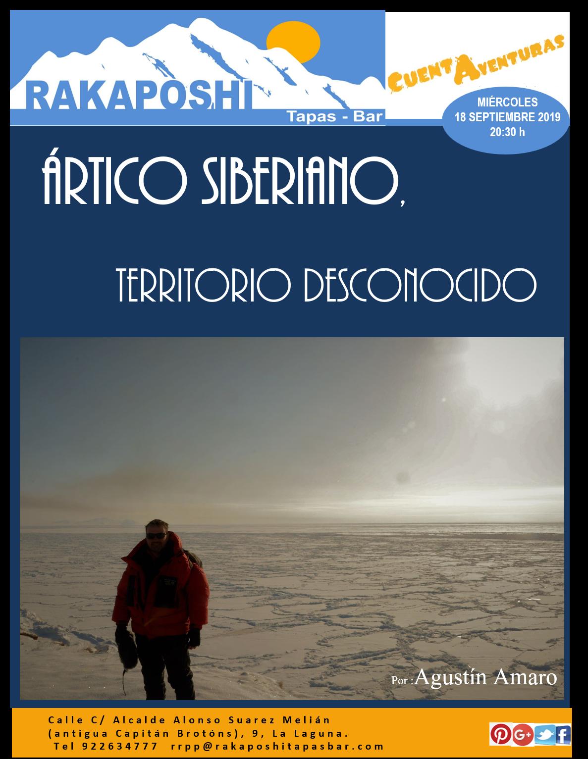 Ártico Siberiano, territorio desconocido