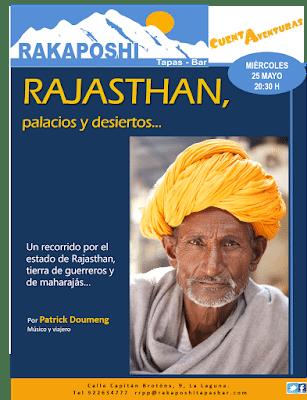 25 de mayo 2016. Rajasthan palacios y desiertos. Patrick Doumeng