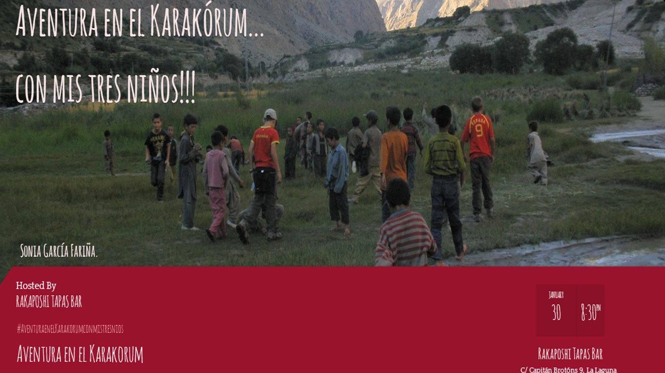 31 de enero de 2014. Aventura en el Karakorum con mis tres niños. Sonia García Fariña