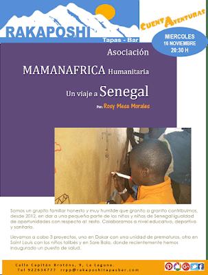16 noviembre 2016. Senegal. Asociación MAMANAFRICA Humanitaria. Rosy Mesa