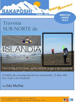 2 de marzo 2016. Travesía Sur-Norte de Islandia. Edu Muñoz