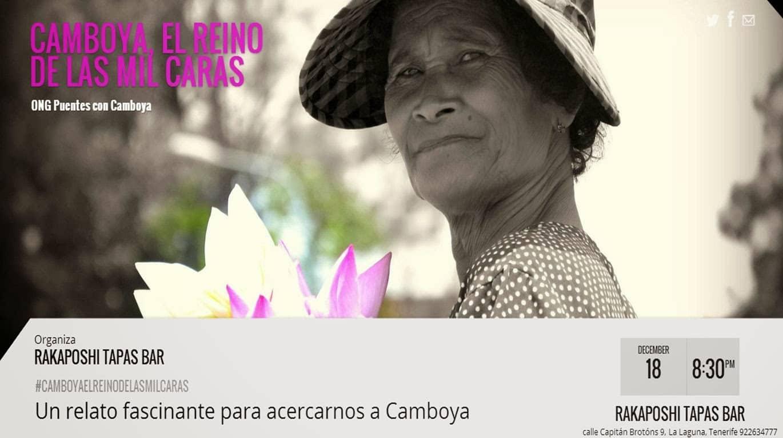 18 de diciembre 2016. Camboya el reino de las mil caras. ONG Puentes con Camboya