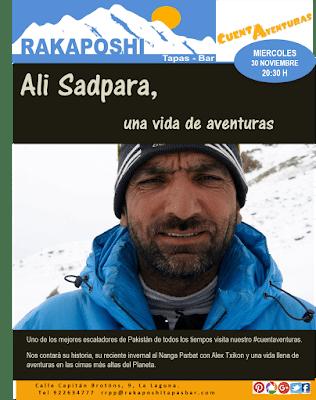 30 noviembre 2016. Ali Sadpara, una vida de aventuras