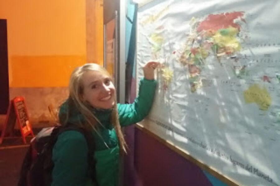 Nos visitó Marja Seidel