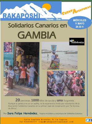 11 de mayo de 2016. Solidarios Canarios en Gambia. Sara Felipe