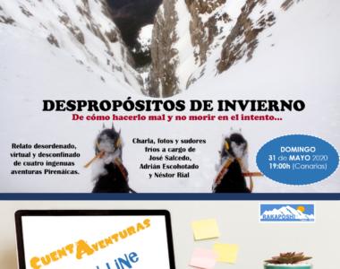 31-5-2020 «Despropósitos de invierno» Nestor Rial, Jose Salcedo y Adrián Escohotado